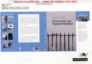Presentación del libro: Encuentros con viajeros notables