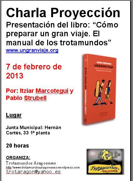 7 de febrero presentación libro
