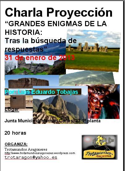 cartel 31 enero Luis Tobajas