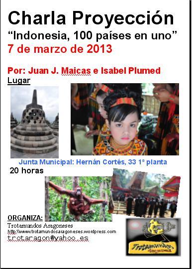 cartel 7 marzo Juan J e Isabel Plumed