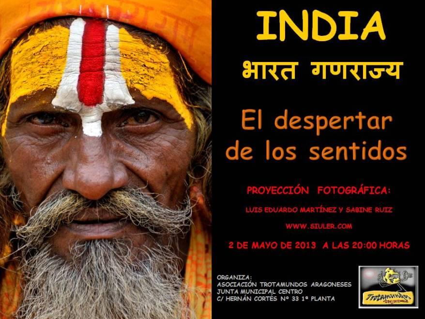 Portada - India, El despertar de los sentidos