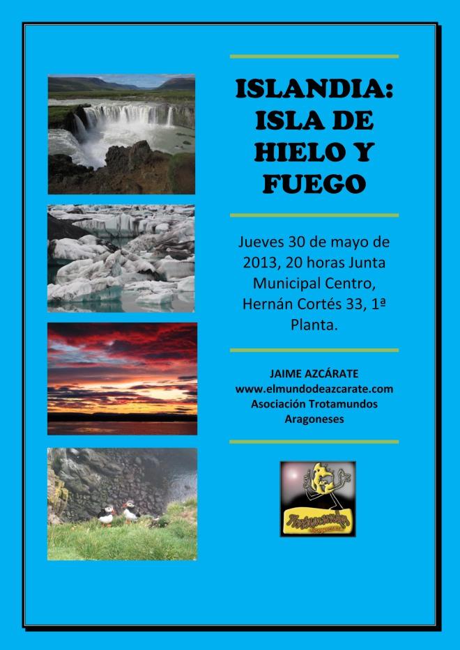 ISLANDIA:  ISLA DE HIELO Y FUEGO