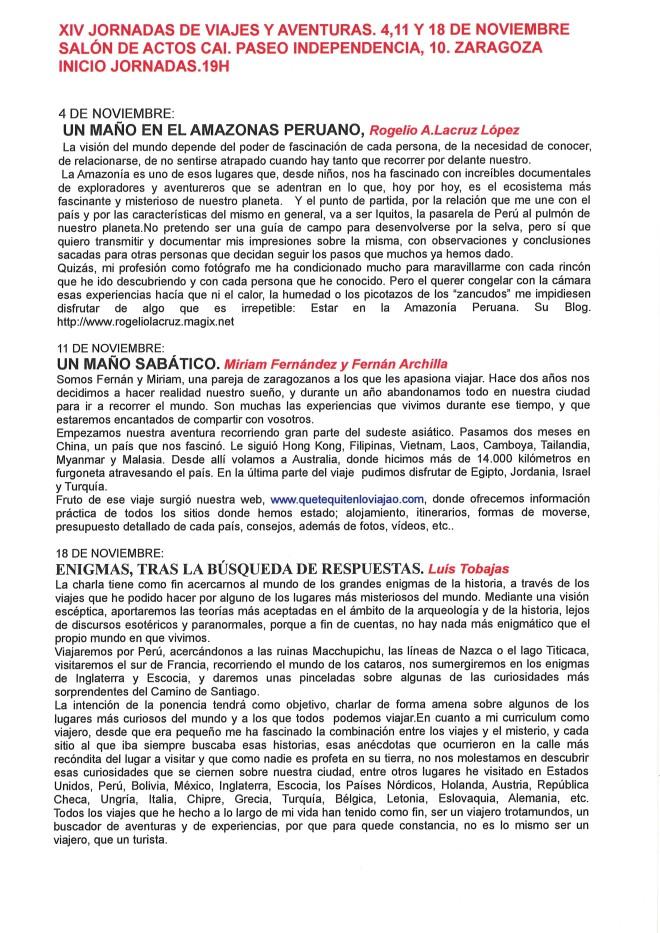 CURRICULO PONENTES  XIV JORNADAS 2