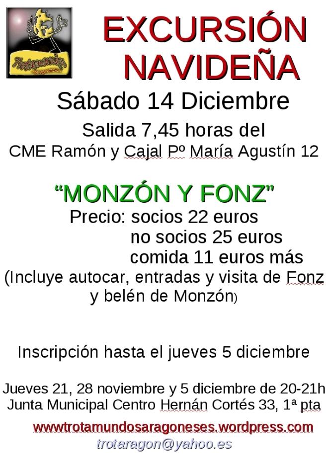 cartel excursión Monzón corregido