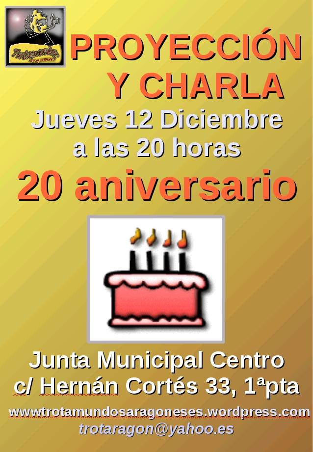 cartel 20 aniversario