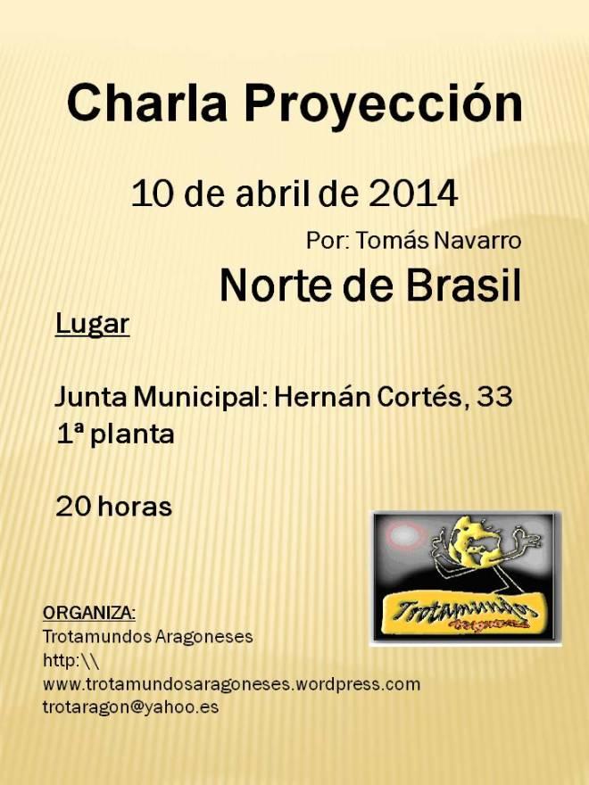 Proyección TOMAS NORTE DE BRASIL