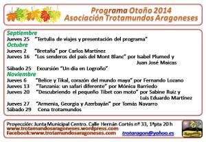 2 Programa Otoño 2014