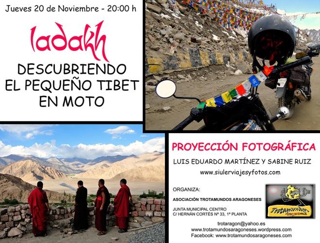 Proyección Ladakh - Sabine y Luis Eduardo