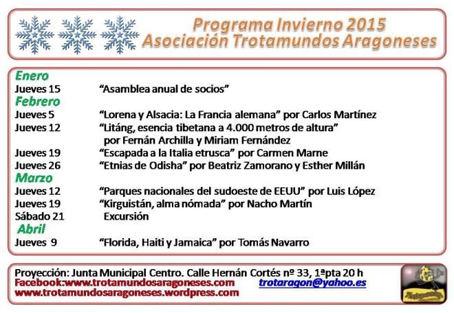 Programa Invierno 2015